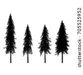 asoka tree. | Shutterstock .eps vector #705525952