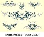 tribal art | Shutterstock .eps vector #70552837