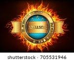 vector illustration of... | Shutterstock .eps vector #705531946