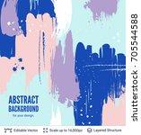 abstract background design.... | Shutterstock .eps vector #705544588