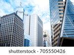 modern office building detail ... | Shutterstock . vector #705550426