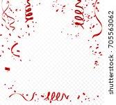 celebration background template ... | Shutterstock .eps vector #705563062