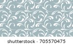 Floral Seamless Pattern. Frost...