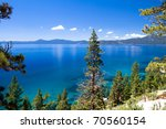 Clean Waters Of Lake Tahoe  Usa