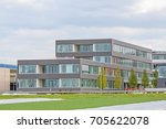 modern office building  ... | Shutterstock . vector #705622078