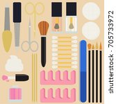 a collection set vector of...   Shutterstock .eps vector #705733972