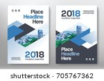 city background business book... | Shutterstock .eps vector #705767362