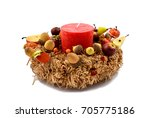autumn decoration stock image.... | Shutterstock . vector #705775186
