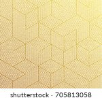 Gold Glitter Geometric Pattern...