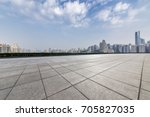 panoramic skyline and buildings ... | Shutterstock . vector #705827035