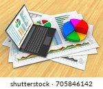 3d illustration of business...   Shutterstock . vector #705846142