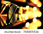 design element. 3d illustration.... | Shutterstock . vector #705855526
