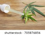 close up of medical cannabis... | Shutterstock . vector #705876856
