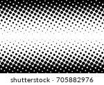 halftone fade gradient...   Shutterstock .eps vector #705882976