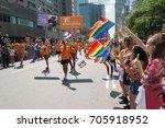 montreal  20 august 2017 ... | Shutterstock . vector #705918952