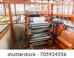 industrial equipment factory... | Shutterstock . vector #705924556
