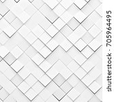 3d pattern of diagonal... | Shutterstock . vector #705964495