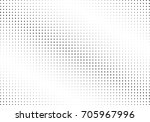 abstract halftone dotted... | Shutterstock .eps vector #705967996
