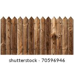 wooden fence over the white... | Shutterstock . vector #70596946