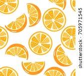 Orange Sliced Seamless Pattern...