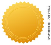blank guarantee certificate | Shutterstock .eps vector #70599511