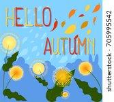 Hello Autumn Inscription With...