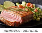 Cilantro Lime Grilled Tuna Wit...