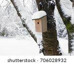 Nest Box Under Snow