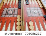 backgammon  | Shutterstock . vector #706056232