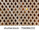 braiding wall of shed from thin ... | Shutterstock . vector #706086232