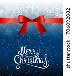 merry christmas and new year... | Shutterstock .eps vector #706092082