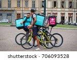 turin  italy   august 30  2017  ... | Shutterstock . vector #706093528