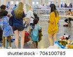 houston  texas  august 30  2017 ... | Shutterstock . vector #706100785