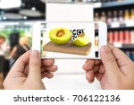 augmented reality marketing... | Shutterstock . vector #706122136
