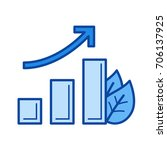 growth vector line icon...   Shutterstock .eps vector #706137925