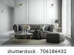 interior living studio  modern... | Shutterstock . vector #706186432