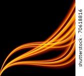 abstract wave energy | Shutterstock . vector #70618816