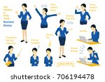 vector illustration cute... | Shutterstock .eps vector #706194478