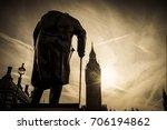 Winston Churchill's Statue Wit...