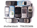Old And Obsolete Cellphone On ...