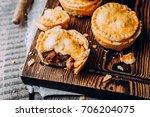 fresh traditional australian... | Shutterstock . vector #706204075