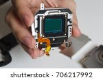 repair broken digital slr... | Shutterstock . vector #706217992