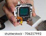 repair broken digital slr... | Shutterstock . vector #706217992