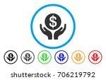 financial maintenance hands... | Shutterstock .eps vector #706219792