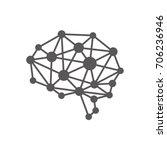 ai  artificial intelligence ... | Shutterstock .eps vector #706236946