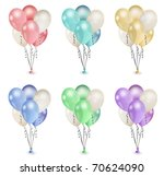 Balloon Bouquets In Various...