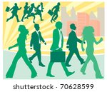 business people | Shutterstock .eps vector #70628599