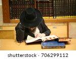 Orthodox Jew Studying Torah ....