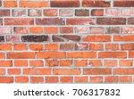 Old Brick Stone Wall Backgroun...