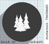 christmas tree icon.   Shutterstock .eps vector #706338682